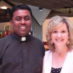 With Rev. Rajesh K. Mankena