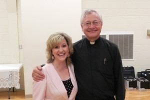 With Fr. Don Wolf