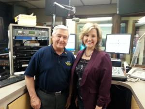 With Deacon Larry Sousa