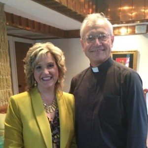 With Fr. Don Wolf, Pastor and Conference Speaker